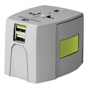 For travelers who constantly find themselves in different countries, the USB Universal Travel...