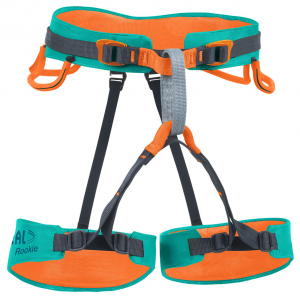 Beal Rookie Children's Sit Harness, Orange/blue
