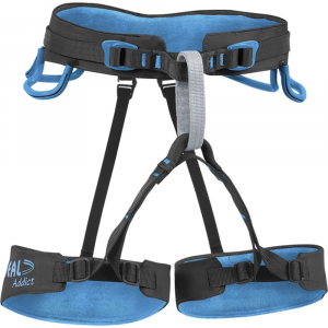 Beal Addict Size 1 Harness, Black/blue