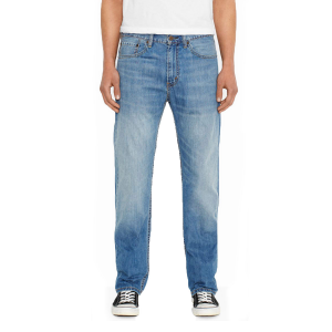 These men\\\'s regular fit jeans come in a straight cut and are known for being one of...