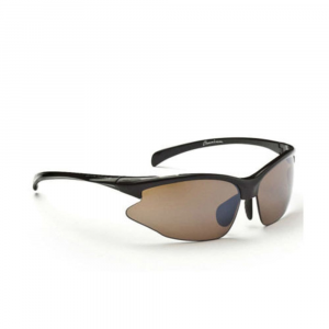Optic Nerve Men's Omnium Sunglasses, Shiny Black