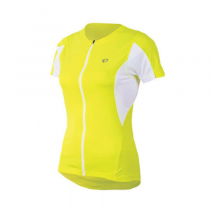 Pearl Izumi Women's Select Bike Jersey, Screaming Yellow