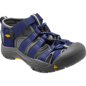 A great summer sandal for the beach, playground, and trail, Keen\\\'s Newport H2 fits securely and...