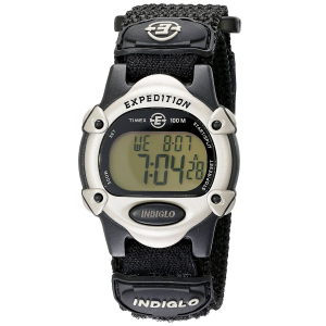 A casual digital watch built for the outdoors, the Expedition Chrono features a Fast-Wrap(R)...