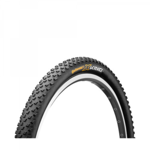 continental x-king mountain bike tire, 29 x 2.2 in.- Save 29% Off - Superfast with great grip, the Continental X-King sets the standard for a tire that can tackle any terrain. Despite pronounced studs, the X-King rolls off smoothly and very quietly. Shoulder lugs provide absolute stability in curves negotiated at high speeds. Black Chili Compound offers a solid grip and is self-cleaning. The X-King simply leaves its competitors behind. Weight: 700 g (24.7 oz.)