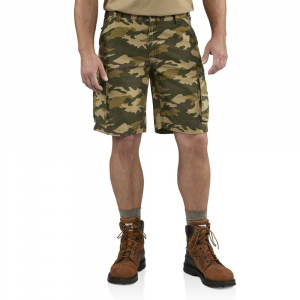 Carhartt Men's Camo Rugged Cargo Shorts