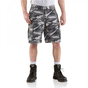 Carhartt Men's Rugged Cargo Camo Shorts
