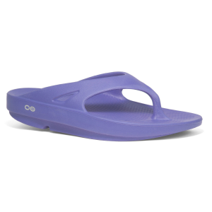 Oofos Women's Ooriginal Thong Sandals, Periwinkle - Size 10