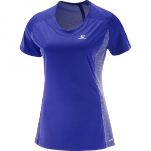 Salomon Women's Agile Short-Sleeve  Tee - Size XS