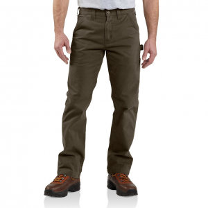 Built with workers in mind, these Carhartt men\\\'s pants combine durability and comfort. The...