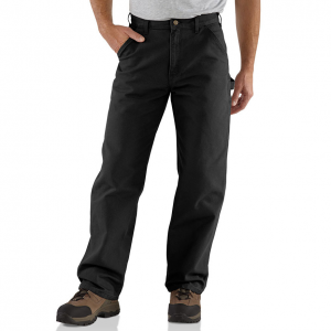 Heavyweight and rugged, these men\\\'s Carhartt work pants are made from comfortable, durable...