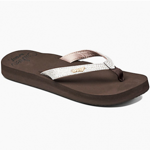 Whether you\\\'re headed to the beach or pool, do so in style. These flip-flops take a comfy...