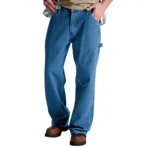 Built from durable material with a relaxed fit, these carpenter jeans are made of cotton...