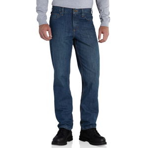 Built to handle long days on the job, the Elton Straight Fit Jeans feature a traditional...