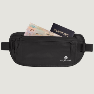 Looking for money belts? Look no further than this a simple waist-worn under-clothing solution....