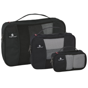 Pack more efficiently with Eagle Creek\\\'s Pack-It set. Three compact cubes offer space for...