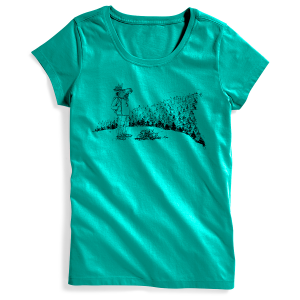 EMS Women's Moose With A View Graphic Tee - Size M