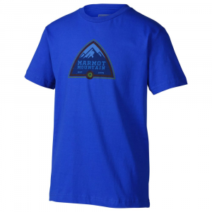 Marmot Boys' Tioga Pass T-Shirt, S/s - Size S KIDS
