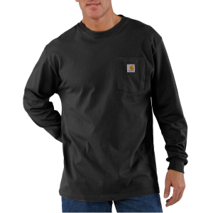 This tee is perfect for layering or being worn on its own. It features 100% cotton jersey knit...