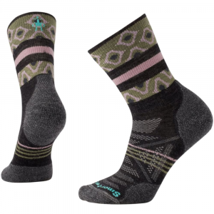 Smartwool Women's Phd Outdoor Light Pattern Mid-Crew Socks