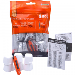 Amk Sol All-Weather Fire Cubes