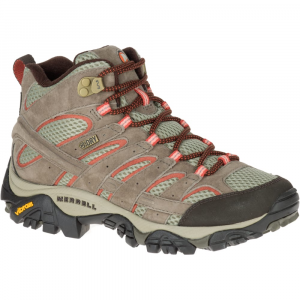 Merrell Women's Moab 2 Mid Waterproof Hiking Boots, Bungee Cord, Wide - Size 5