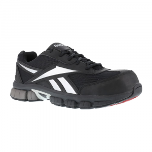 reebok work men's ketia composite toe cross trainer shoes, black/ silver, medium width- Save 20% Off - Reebok Work Men's Ketia Composite Toe Cross Trainer Shoes, Black/ Silver, Medium Width