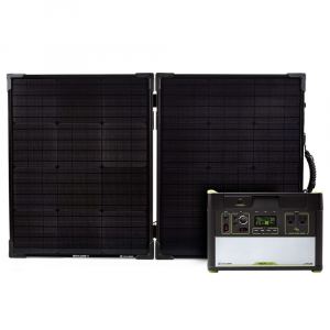 Goal Zero Yeti 1400 Lithium Power Station And Boulder 100 Solar Panel Kit