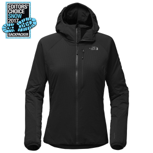 Tackle the challenges of rapid elevation gain and loss with this new, lightly insulated hoodie...