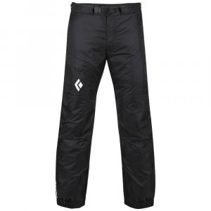 Black Diamond Men's Stance Belay Insulated Pants, Black