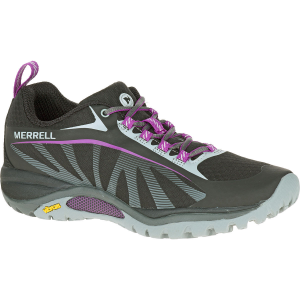 Merrell Women's Siren Edge Hiking Shoes, Black/purple - Size 6