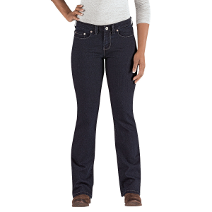Every woman needs a stylish pair of boot cut jeans. This version is guaranteed to fit your shape...