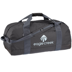 Constructed with water-repellent Bi-Tech(TM) fabric, this massive 105L duffel was designed to...