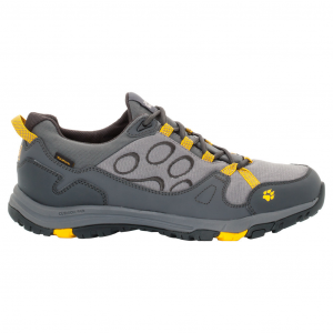 Jack Wolfskin Men's Activate Low Texapore Waterproof Low Hiking Shoes - Size 9.5.