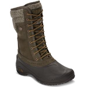 The North Face Women's Shellista Ii Mid Waterproof Boots, Tarmac Green/tapenade Green - Size 6
