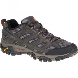 Merrell Men's Moab 2 Ventilator Hiking Shoes, Beluga, Wide - Size 7.5