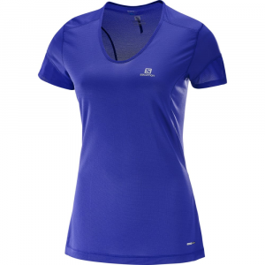 Salomon Women's Trail Runner Short-Sleeve  Tee - Size XS