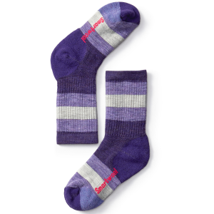 Smartwool Kids' Striped Hike Medium Crew Socks