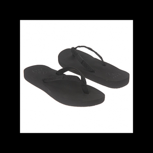 The contoured construction of the Reef Ginger flip-flops is designed to provide superior support...