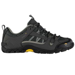 Gelert Men's Rocky Waterproof Low Hiking Shoes, Black - Size 10