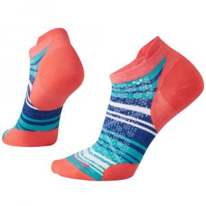 Smartwool Women's Phd Run Ultra Light Striped Micro Socks