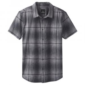 Prana Men's Ecto Space Dye Short-Sleeve Shirt - Size S