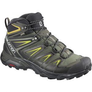 Salomon Men's X Ultra 3 Mid Gtx Waterproof Hiking Boots - Size 8