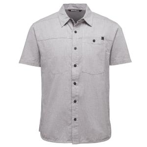 Black Diamond Men's Short-Sleeve Chambray Modernist Shirt - Size S