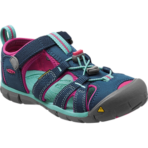 The new essential hybrid water sandal for active kids who like to splash around. This...