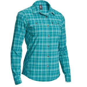 EMS Women's Journey Plaid Long-Sleeve Shirt - Size XS