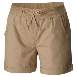 Crafted of 100% soft cotton poplin, the Girls\\\' 5 Oaks Pull-on woven short features a...