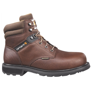 Carhartt Men's 6 In. Waterproof Steel Toe Work Boots, Brown