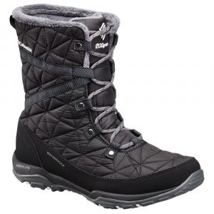 Columbia Women's Loveland Mid Omni-Heat Waterproof Insulated Winter Boots, Black/sea Salt - Size 6