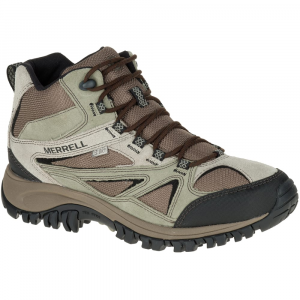 Merrell Men's Phoenix Bluff Mid Waterproof Hiking Shoes, Putty - Size 7.5
